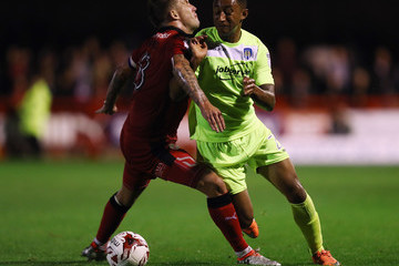Jimmy Smith Crawley Town v Colchester United - Sky Bet League Two