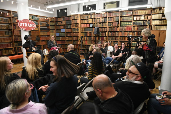Susan Holmes McKagan Launches Her New Novel At The Strand With Miss J Alexander