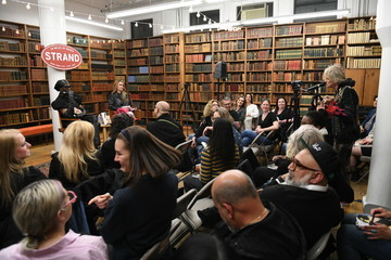 Jimmy Webb Susan Holmes McKagan Launches Her New Novel At The Strand With Miss J Alexander