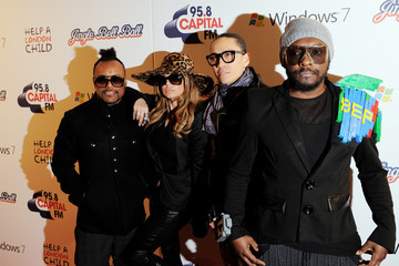 will.i.am Jingle Bell Ball 2010 Day One - Arrivals
