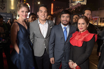 "Jinkee Pacquiao Premiere Of ""Manny"" - Red Carpet"