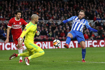 Jiri Skalak Middlesbrough v Brighton and Hove Albion - The Emirates FA Cup Fourth Round