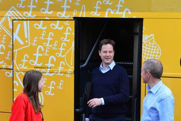 Jo Swinson Nick Clegg's Final Day on the Campaign Trail