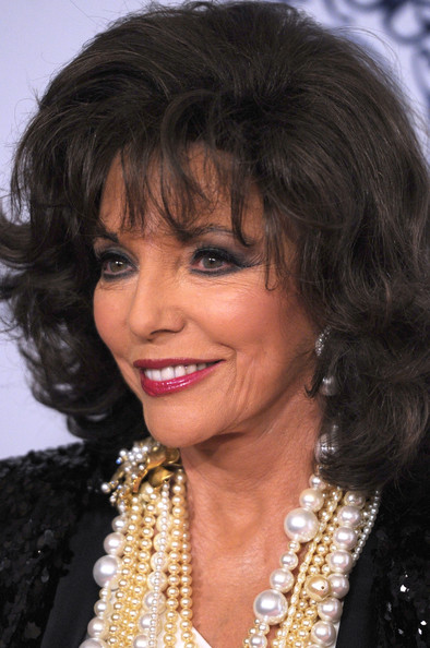 joan collins beauty