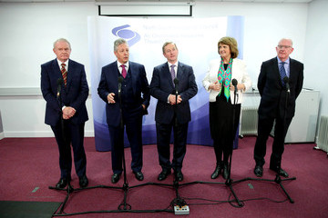 Joan Burton North South Ministerial Council Meeting
