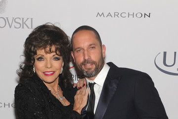 Joan Collins Arrivals at the Accessories Council ACE Awards