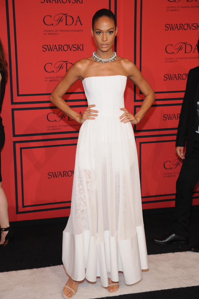 Joan Smalls - Arrivals at the CFDA Fashion Awards