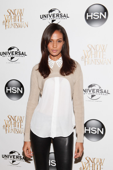 Joan Smalls - Cocktails For The HSN & Universal Pictures Snow White & The Huntsman Collection Launch
