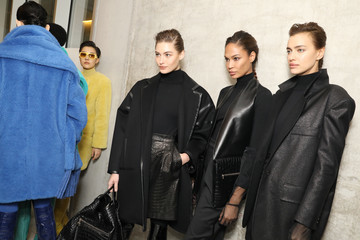 Joan Smalls Max Mara - Backstage: Milan Fashion Week Autumn/Winter 2019/20
