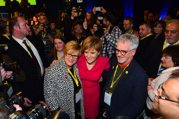 Joan Sturgeon SNP Spring Conference Ahead Of The 2015 General Election