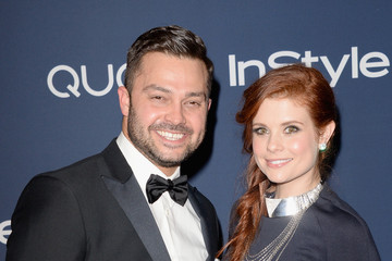 Joanna Garcia-Swisher Arrivals at the InStyle/Warner Bros. Golden Globes Party — Part 2