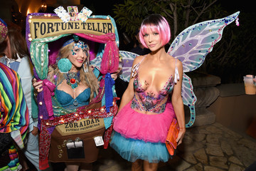 Joanna Krupa Celebs Attend the Casamigos Tequila Halloween Party
