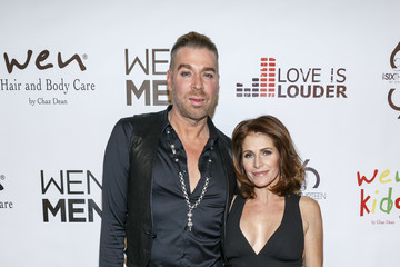 Joanne Ferra Chaz Dean Holiday Party Benefiting Love Is Louder