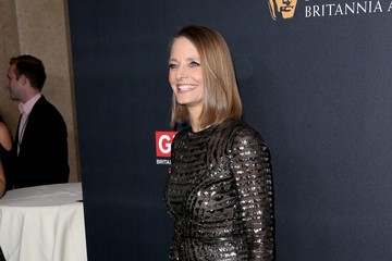 Jodie Foster 2016 AMD British Academy Britannia Awards Presented by Jaguar Land Rover and American Airlines - Arrivals