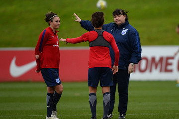 Jodie Taylor England Women's Training Session