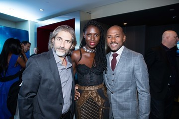 Jodie Turner-Smith Premiere of Amazon's 'Mad Dogs' - Cocktail Reception