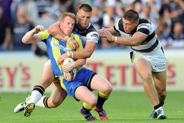 Joe Arundel Hull FC v Warrington Wolves - Tetley's Challenge Cup Semi Final
