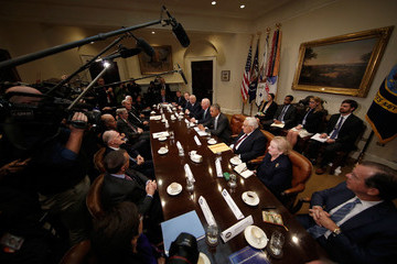 Joe Biden Obama and Biden Meet With National Security Leaders at White House