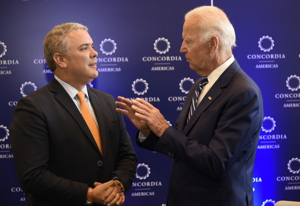 President Joseph R. Biden, Jr. Call with President Ivan Duque of Colombia