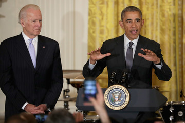 Joe Biden President Obama Hosts Cinco De Mayo Reception at the White House