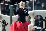 Lady Gaga performs during the 59th Presidential Inauguration on January 20, 2021 in Washington, DC.  During today's inauguration ceremony Joe Biden becomes the 46th president of the United States.