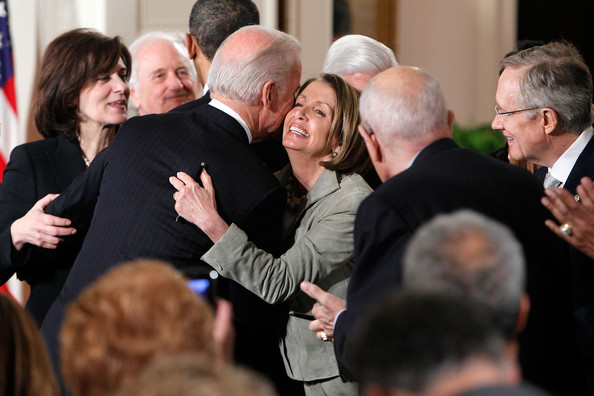 Image result for nancy pelosi hugs joe biden
