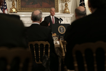 Joe Biden Obama And Biden Address National Governors Association At White House