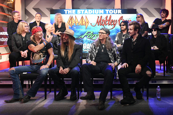 Press Conference With Mötley Crüe, Def Leppard And Poison Announcing 2020 Stadium Tour
