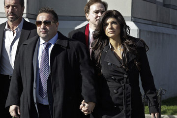 Joe Giudice Teresa and Joe Giudice Appear in Court