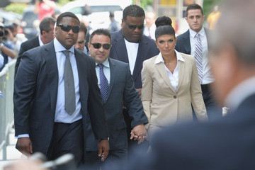 Joe Giudice Teresa and Joe Giudice Arrive at Court