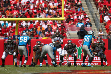 Joe Hawley Carolina Panthers v Tampa Bay Buccaneers