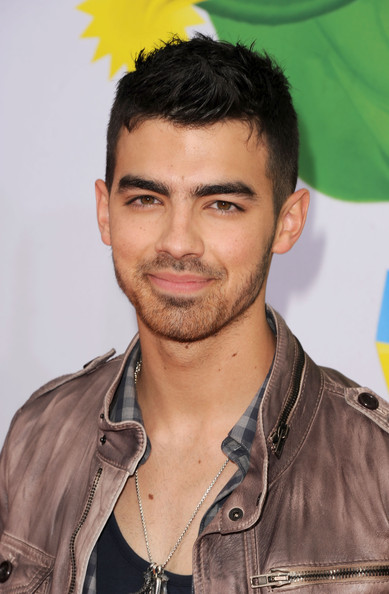 Joe Jonas Singer Joe Jonas arrives at Nickelodeon's 24th Annual Kids' Choice Awards at Galen Center on April 2, 2011 in Los Angeles, California.