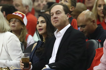 Joe Lacob Golden State Warriors vs. Houston Rockets - Game Two