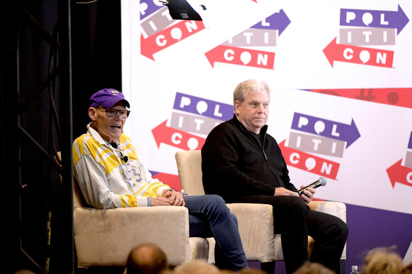 Politicon 2019 – Day 2 [red,event,world,news conference,politicon 2019,nashville,tennessee,music city center,james carville,joe lockhart]