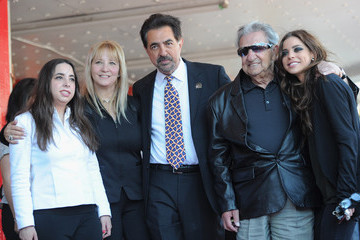 Mia Mantegna Joe Mantegna Honored On The Hollywood Walk Of Fame