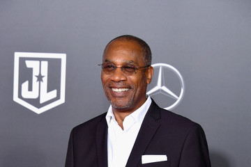 Joe Morton Premiere Of Warner Bros. Pictures' 'Justice League' - Arrivals