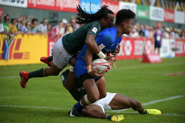 Joe Perez Day Three - Emirates Dubai Rugby Sevens: HSBC Sevens World Series