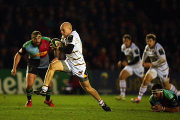 Joe Simpson Harlequins v Wasps - European Rugby Champions Cup