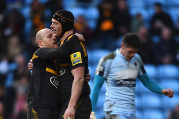 Joe Simpson Wasps v Worcester Warriors - Aviva Premiership