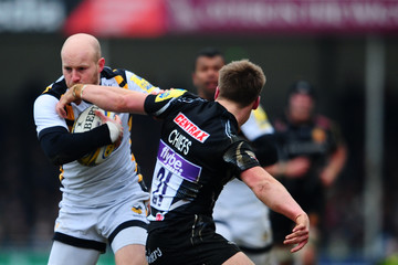 Joe Simpson Exeter Chiefs v Wasps - Aviva Premiership