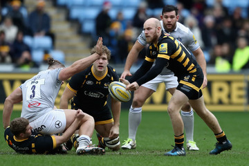 Joe Simpson Wasps v Bath Rugby - Aviva Premiership