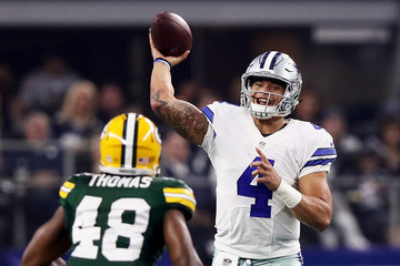 Joe Thomas Divisional Round - Green Bay Packers v Dallas Cowboys