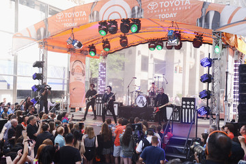 Joe Trohman Andy Hurley Fall Out Boy Performs on NBC's 'Today'