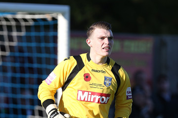 Joe Wright Bishop's Stortford v Northampton Town - FA Cup First Round