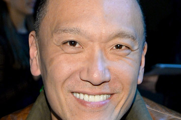 Joe Zee Front Row at the Marc Jacobs Show