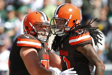 Joel Bitonio Cleveland Browns v New York Jets
