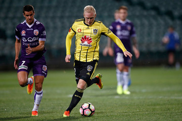 Joel Chianese A-League Rd 22 - Wellington v Perth