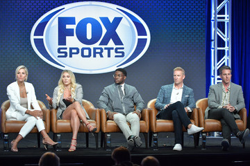 Joel Klatt Charissa Thompson 2019 Summer TCA Press Tour - Day 16