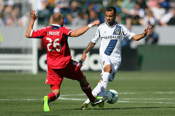Joel Lindpere Chicago Fire v Los Angeles Galaxy