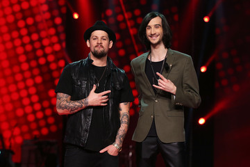 Joel Madden The Voice Final Five And Their Coaches - Media Call